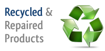 Recycled and Repaired Products